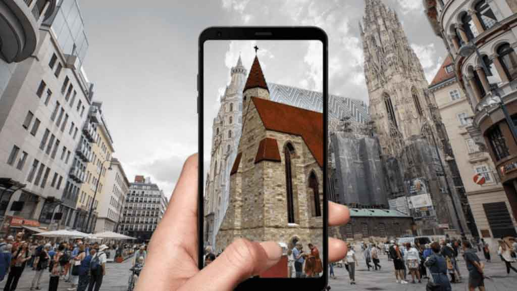 Augmented Reality AR Tour Wien VARS